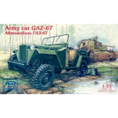 Army car GAZ-67 ( 1/35  code 3508 )