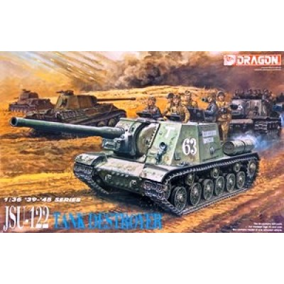 JSU-122 Tank Destroyer (1/35 code 6013 )