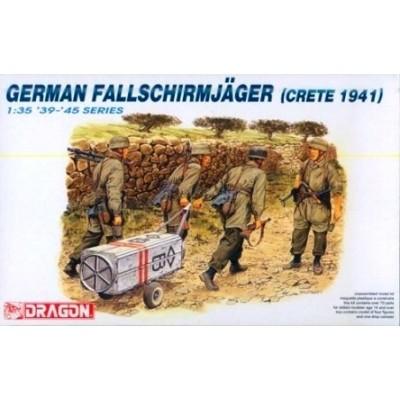 German Fallschirmjäger (Crete 1941) ( 1/35  code 6070)