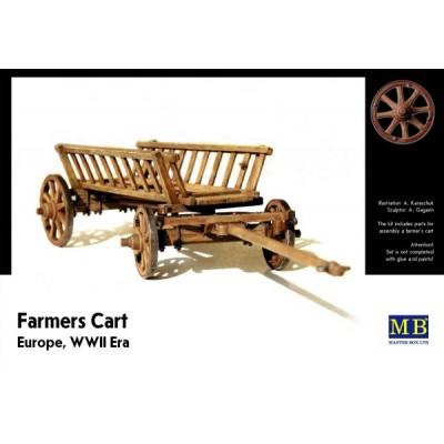 """Farmers Cart"", Europe, WWII Era  ( 1/35 code 3537 )"