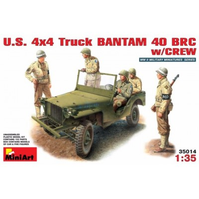 U.S. 4X4 TRUCK Bantam 40 BRC (1/35 code 35014)