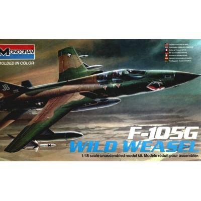 F-105G Wild Weasel ( 1/48 code 5806 )
