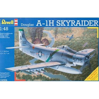 Douglas A-1H Skyraider (1/48 code 04584 )
