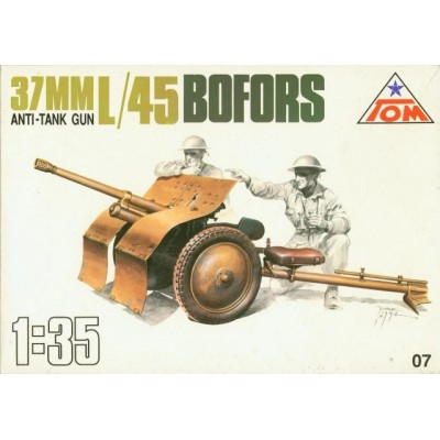 37mm Anti Tank gun L/45 Bofors ( 1/35 code 07 )