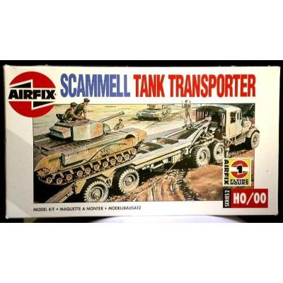 Scammell Tank Transporter (1/76-1/72 code 02301)
