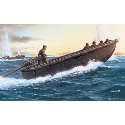 German Sturmboat w/Pioniere ( 1/35  code 6108 )