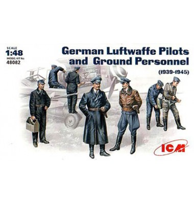 German Luftwaffe Pilots and Ground Personnel 1939-1945 (1/48 code 48082)