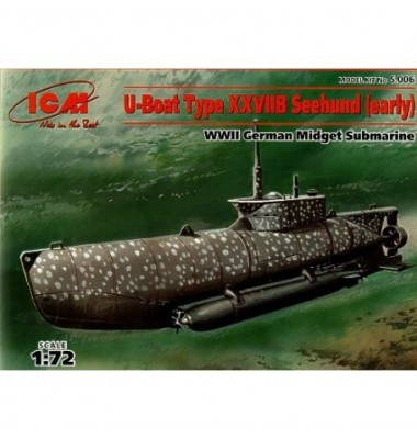 U-Boat Type XXVIIB Seehund ( 1/72 code s.006)