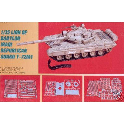 Lion Of Babylon Iraqi Republican Guard T-72M1 ( 1/35 code 28001 )