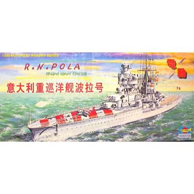 R.N. Pola Italian Heavy Cruiser ( 1/350  code 03205 )