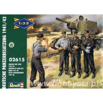 Deutsche Panzerbesatzung 1941-42 (1/35 code 02615)