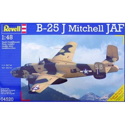 B-25 J Mitchell JAF ( 1/48 code 04520 )