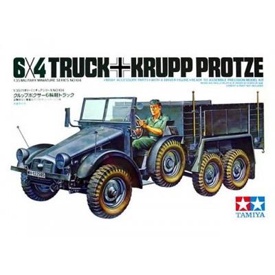 6X4 Truck Krupp Protze ( 1/35 code 35104 )