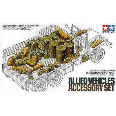 Allied Vehicles Accessory Set (1/35 code 35229)