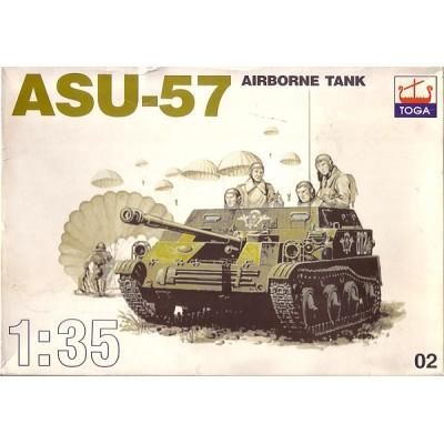 ASU-57 Airborne Tank ( 1/35 code 02 )