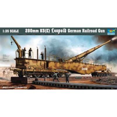 280mm K5(E) Leopold Railroad Gun ( 1/35  code 00207 )