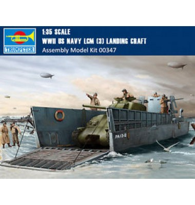 WWII US Navy LCM (3) Landing craft ( 1/35  code 00347 )