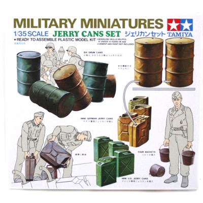 Jerry Can Set ( 1/35 code 35026 )