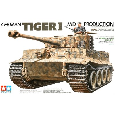 German Tiger I Mid Production ( 1/35 code 35194 )