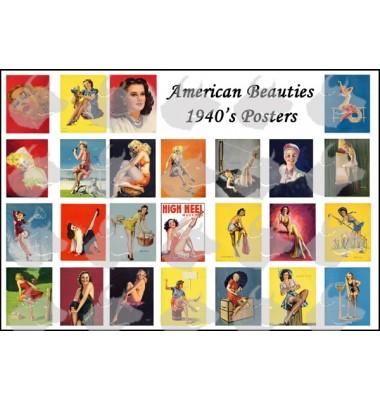American beauties 1940 posters  1/48