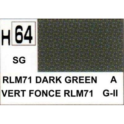 Gunze- hobby color H-64 RLM 71 dark green