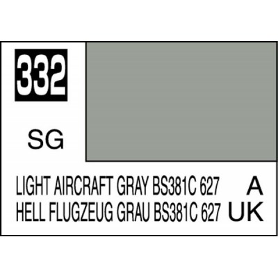 Gunze-Mr.color  light aircraft gray-332